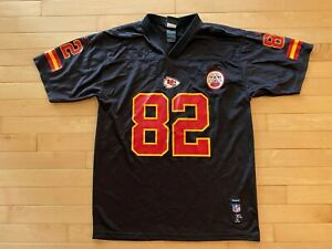 Kansas City Chiefs #82 Dwayne Bowe Black Youth Sz XL Reebok Jersey