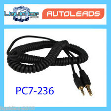 GOLD 3.5mm to 3.5mm MALE AUX LINE IN JACK AUDIO CAR CADLE LEAD FOR IPHONE IPOD M