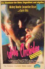 Wilde  Orchidee  (1) * KULT - Film * Mickey Rourke * von : Zalman King