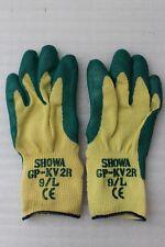 10 Paar Showa Schnittschutz Handschuhe GP-KV2R Kevlar-Gewebe Größe 9/L gelb NEU
