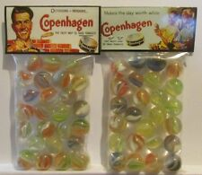 2 Bags Of Copenhagen Chewing Tobacco Promo Marbles