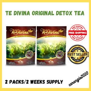 (AUTENTICO) Te Divina Original Vida Divina Detox & Cleanser Tea 2 Weeks Supply