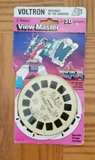 Rare Voltron Defender of the Universe Tv Show Robeasts View-master Reels Pack