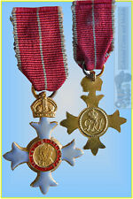 Order of the British Empire 'C.B.E.' Type II Miniature Medal