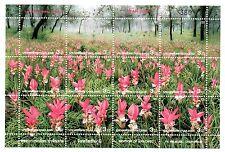 TIMBRES - STAMPS - THAILANDE - THAILAND - FLOWERS - FLEURS - FORET - 2000 -