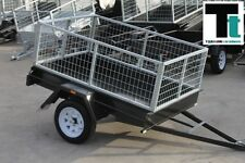 Cage Trailer SPECIAL - 6x4 Light Duty Trailer *NEW TYRES*