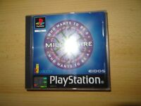 who wants to be a millionaire ps1 PAL VERSION MINT COLLECTORS