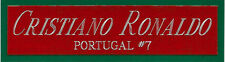 CRISTIANO RONALDO NAMEPLATE AUTOGRAPHED Signed SOCCER BALL-FOOTBALL-JERSEY-PHOTO