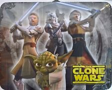 ~ Star Wars - CLONE WARS TIN FIGURE TOY BOX CASE Quilt Doona Available
