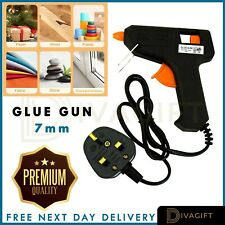 Glue Gun Hot Melt Electric Trigger DIY Adhesive Crafts FREE DELIVERY IN UK