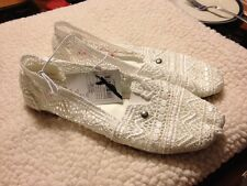 Womens Loafers Size 5/6 White