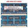 For Hynix 4GB 8GB 16GB 2RX8 PC3-12800S DDR3-1600MHz SODIMM Laptop Memory RAM