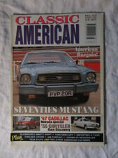 CLASSIC AMERICAN CARS #52 Aug 1995 - Seventies Mustang '47 Cadillac '55 Chrysler