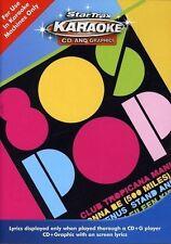 KARAOKE - 80'S POP & GRAPHICS  CD NEU