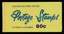 Australia Sg. Sb39 60c Booklet, Mint Nh, 3 Panes of 6