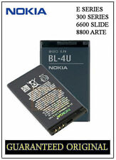 GENUINE BATTERY NOKIA BL-4U E66 E75 300 301 3120 6212 5530 6600 SLIDE 8800 ARTE