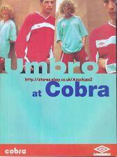 Umbro At Cobra Clothing 1997 Magazine Advert #4143