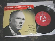 LEROY ANDERSON POPS CONCERT PART 1 4 TRACK EP BRUNSWICK TRI-CENTRE OE9356 N.MINT