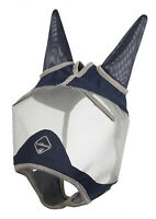 LeMieux ARMOUR SHIELD PRO HALF Face Field Turnout Fly Mask EYES & EARS Protector