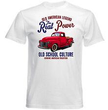 Vintage American Car Chevrolet 3100-Nuevo Algodón Camiseta