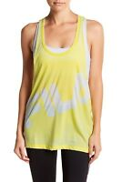 FILA - Women`s sport Twisted Racerback Tank top raw edges LEMON S M L XL