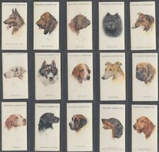 CIGARETTE CARD SET JOHN PLAYER, DOGS, BY WARDLE (EIRE) (HEADS) 1927 (AD160)
