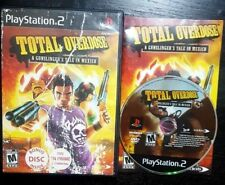 Total Overdose:A Gunslinger's Tale in Mexico (Sony PlayStation 2, 2005) Complete