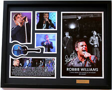 New Robbie Williams Signed Limited Edition Memorabilia