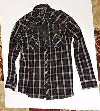 Point Zero Black Shirt XXL Long Sleeve NWT
