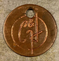 Calumet & Hecla C&H Copper Mine Tag Michigan Mining Smelting Refining