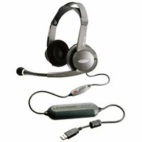 Plantronics DSP-500 Digitally-Enhanced USB Gaming/Multimedia Stereo Headset and