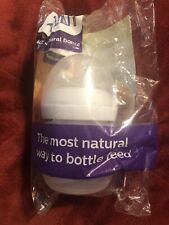 Avent Plastic Bottle 4 oz Baby Natural Feeding Anit Colic Infant Philips New