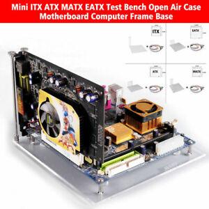 Mini ATX ITX MATX EATX Test Bench Open Air Case Motherboard Computer Frame Base