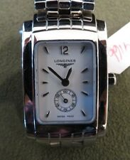 Longines Dolce Vita Luxury Ladies Watch Rectangular Analog L51554166 Swiss Made
