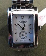 Longines Dolce Vita Luxury Ladies Watch Rectangular Analog L51554166 Swiss Made