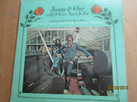 "SONNY & CHER ALL I EVER NEED IS YOU 12"" VINYL 33 RPM LP KAPP RECORDS KS3600 1972"