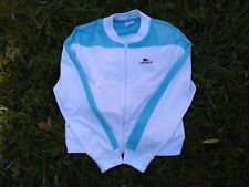 Lacoste White Women Tennis Jersey 40 Blue M Rare Version