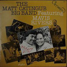 THE MATT CATINGUB BIG BAND Featuring MAVIS RIVERS-M1983LP