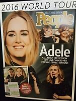 ADELE 2016 World Tour People Magazine Collectors Edition MINT COPY BRAND NEW