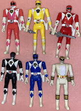 Mighty Morphin Power Rangers Original Flip Head Figures Lot *used*
