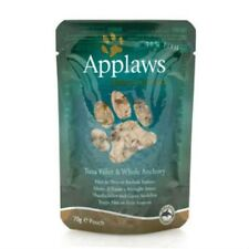 Applaws Tuna Fillet and Whole Anchovy cat food 70g (Case Of 8)