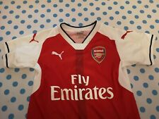 Authentic Arsenal 18 19  Shirt ramsey Aged 7-8 great condition