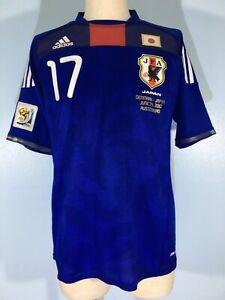 HASEBE JAPAN WORLD CUP 2010 FORMOTION ADIDAS SOCCER SHIRT FOOTBALL JERSEY M