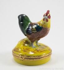 Artoria Porcelain Limoges Box, Rooster, #41