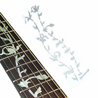 Tree Of Life Fretboard Inlay Sticker Fret Marker Decal Silver for Guitar Bass