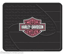 harley davidson pink utility floor HD mat welcome shop garage back rear cycle
