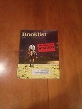 Booklist Magazine Spotlight On Westerns August 2010 Vol 106 No. 22