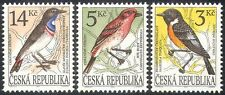 Czech Republic 1994 Finch/Stonechat/Birds/Nature/Animation 3v set (b8974)