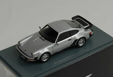 PORSCHE 911 Turbo 930 1983 Modelo G EE.UU. Plata 1:43 Neo