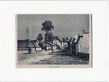 Antique matted print :Makassar Celebes Sulawesi Selatan Indonesia 1881 Macassar